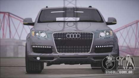 Audi Q7 2008 para GTA San Andreas esquerda vista