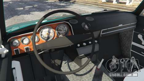 GTA 5 VAZ-2106 v0.2 traseira direita vista lateral