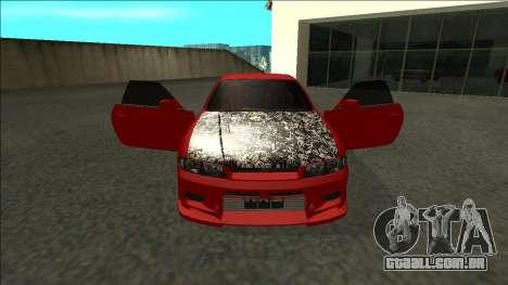 Nissan Skyline R33 Fairlady para GTA San Andreas vista interior