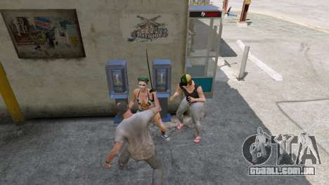 GTA 5 Cimitarra de Skyrim terceiro screenshot