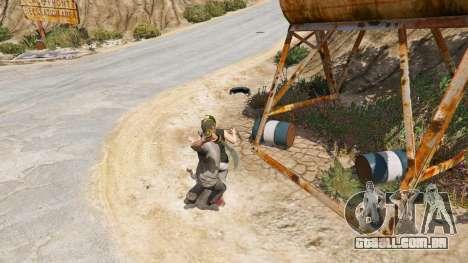 GTA 5 Cimitarra de Skyrim quarto screenshot