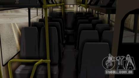 BAZ A079.07-padrão para GTA San Andreas vista traseira