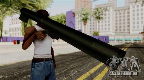 Light-AntiTank-Weapon from Delta Force para GTA San Andreas terceira tela