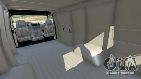 GTA 5 Chevrolet G20 Van vista lateral direita