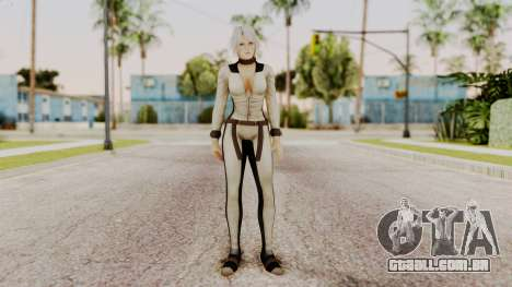 DOA 5 Christie Assasin para GTA San Andreas segunda tela
