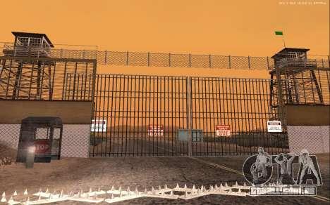 Nova Base Militar v1.0 para GTA San Andreas quinto tela