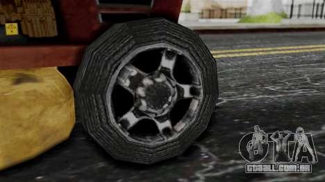 Mower from Bully para GTA San Andreas traseira esquerda vista