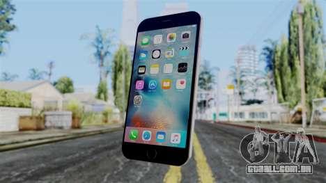 iPhone 6S Space Grey para GTA San Andreas segunda tela