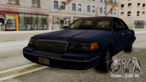 Ford Crown Victoria LP v2 Civil para GTA San Andreas