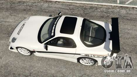GTA 5 Mazda RX-7 C-West v0.3 voltar vista