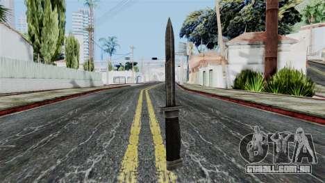 Allied Knife from Battlefield 1942 para GTA San Andreas segunda tela