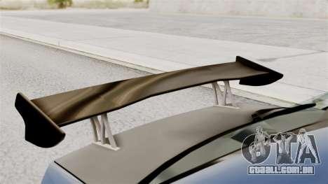 Mitsubishi Lancer Evolution v2 para GTA San Andreas vista traseira
