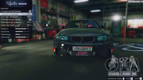 GTA 5 BMW 1M v1.0 vista lateral direita