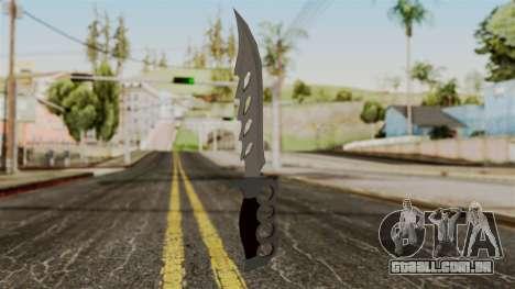 A faca para GTA San Andreas segunda tela