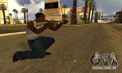 GTA 5 Gusenberg Sweeper para GTA San Andreas segunda tela