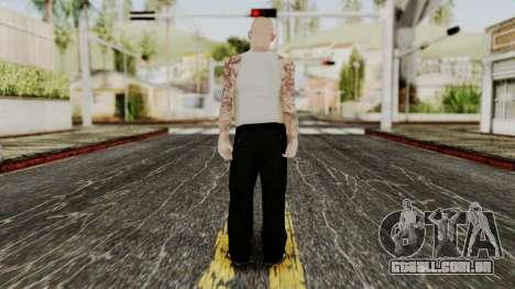 Alice Baker Young Member para GTA San Andreas terceira tela