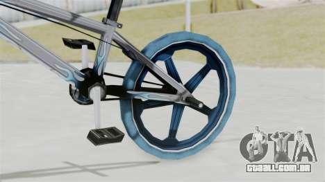 Custom Bike from Bully para GTA San Andreas vista direita
