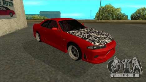 Nissan Skyline R33 Fairlady para GTA San Andreas esquerda vista