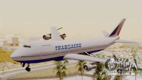 Boeing 747 TransAero para GTA San Andreas