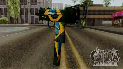 Brasileiro Micro Uzi v2 para GTA San Andreas segunda tela