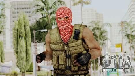Terrorist para GTA San Andreas