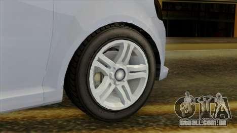 GTA 5 Asea DeClasse v2 IVF para GTA San Andreas traseira esquerda vista