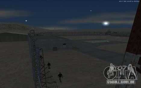 Nova Base Militar v1.0 para GTA San Andreas twelth tela
