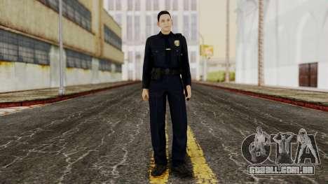 GTA 5 Cop para GTA San Andreas segunda tela