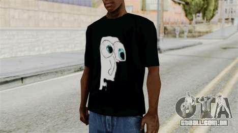 Shirt Meme Ojon para GTA San Andreas segunda tela