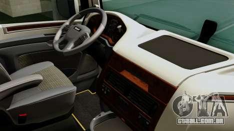 DAF XF Euro 6 SSC para GTA San Andreas vista direita