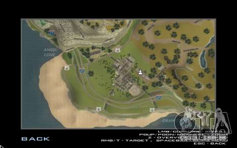 HD cartão para Diamondrp para GTA San Andreas terceira tela