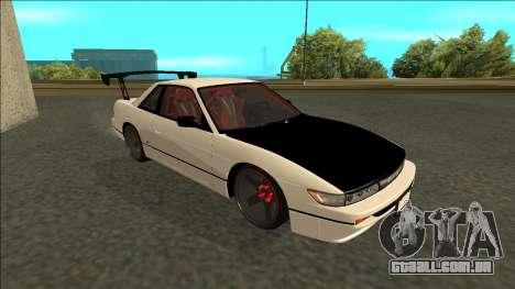 Nissan Silvia S13 Drift para GTA San Andreas esquerda vista