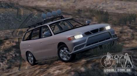 Daewoo Nubira eu Vagão-NOS DE 1999 - versão FINA para GTA 5