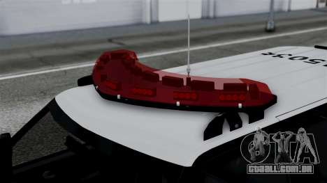 Chevrolet Blazer 2010 para GTA San Andreas vista direita