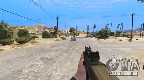 GTA 5 P-90 из Battlefield 4 quarto screenshot