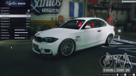 Roda GTA 5 BMW 1M v1.0