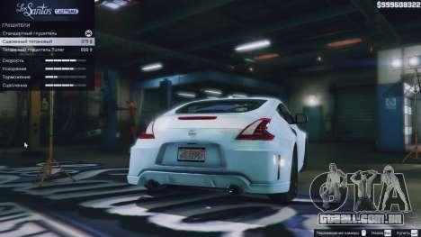 Roda GTA 5 Nissan 370z