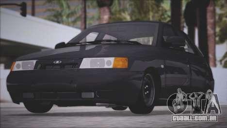 VAZ 2112 itens de Qualidade para GTA San Andreas vista traseira