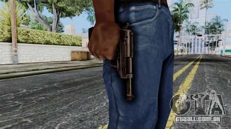 Walther P38 from Battlefield 1942 para GTA San Andreas terceira tela