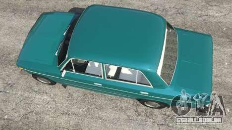 GTA 5 VAZ-2106 v0.2 voltar vista