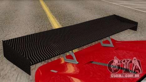 Vapid Bullet GT-GT3 para GTA San Andreas vista traseira
