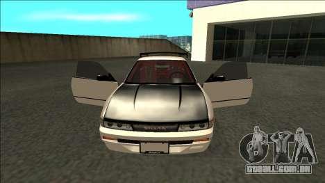 Nissan Silvia S13 Drift para GTA San Andreas vista interior