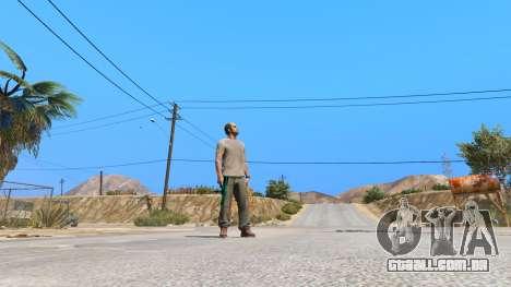 GTA 5 Saints Row 3 Cyber SMG Emissive v1.01 sétima screenshot