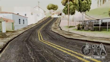 BlackRoads v1 LS Kenblock para GTA San Andreas por diante tela