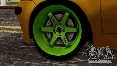 Daewoo Matiz Tuning para GTA San Andreas traseira esquerda vista