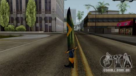 Brasileiro Knife v2 para GTA San Andreas