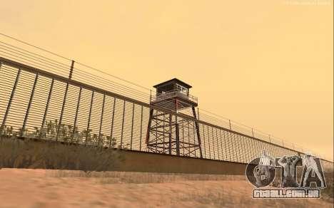 Nova Base Militar v1.0 para GTA San Andreas terceira tela