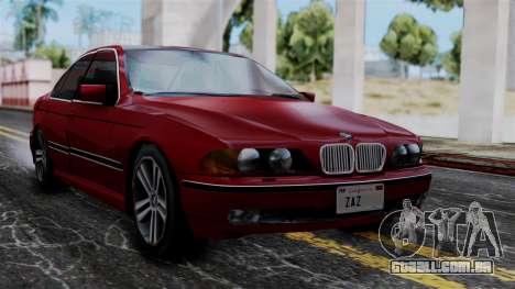 BMW M5 E39 SA Style para GTA San Andreas