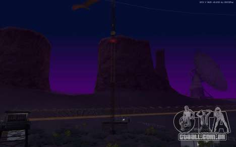 Nova Base Militar v1.0 para GTA San Andreas nono tela