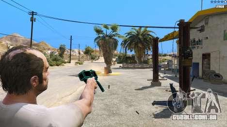 GTA 5 Saints Row 3 Cyber SMG Emissive v1.01 quinta imagem de tela
